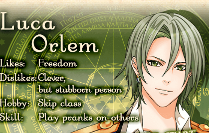[Soluzione] Shall we date? Wizardess heart Luca Orlem