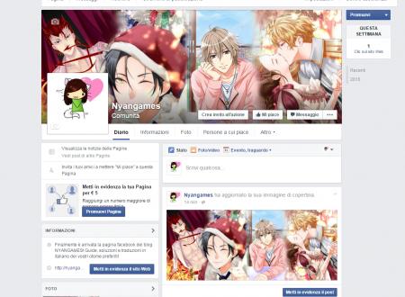 Social Nyangames e novità! Follow us or leave a like!